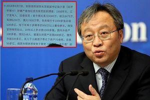 Trung Quốc: 'Hổ tài chính' có 148 người tình