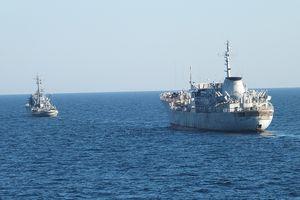 Ukraine thách thức Nga ngay ngoài khơi bán đảo Crimea