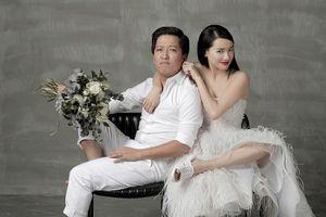 Trường Giang - Nhã Phương 'quậy tung trời' trong bộ ảnh cưới