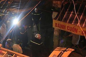 Vụ cháy sát Bệnh viện Nhi Trung ương: Nguồn phát đám cháy từ khu trọ giá rẻ
