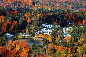 Thiên đường nghỉ dưỡng mùa thu ở Bắc Mỹ, nghe là thích, nhìn là mê