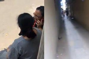 Bà bầu 8 tháng ở Hà Nội bị 2 đạo tặc xô ngã, cướp iPhone X và túi xách