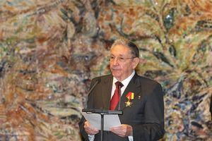 Bí thư thứ nhất Đảng Cộng sản Cuba Rául Castro Ruz chia buồn việc Chủ tịch nước Trần Đại Quang từ trần
