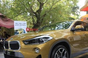 Cận cảnh nội, ngoại thất 'của lạ' BMW X2 vừa xuất hiện tại Hà Nội