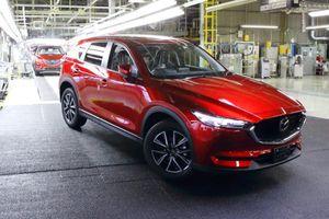 Mazda CX-5 2019 sẽ được trang bị động cơ SkyActiv-G tăng áp, mạnh 250 mã lực