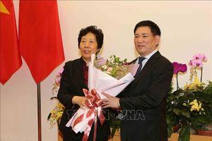 Tổng Kiểm toán nhà nước Việt Nam hội đàm với Tổng Kiểm toán nhà nước Trung Quốc