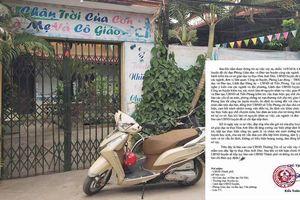 Hà Nội: Báo cáo UBND thành phố vụ bé trai bị rách bộ phận sinh dục khi chơi ở lớp