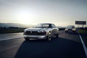 Ngắm Peugeot e-Legend Concept với thiết kế retro mang hơi hướng tương lai