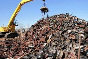 8 tháng, Việt Nam chi 1,22 tỷ USD nhập khẩu phế liệu sắt thép