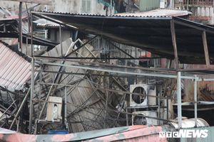 Cháy lớn gần Bệnh viện Nhi Trung ương: Nguồn cháy xuất phát tại nhà ông Hiệp 'khùng'