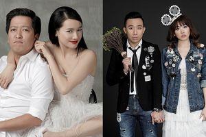 Trường Giang - Nhã Phương, Trấn Thành - Hari Won chụp ảnh cưới 'lầy' hết phần người khác