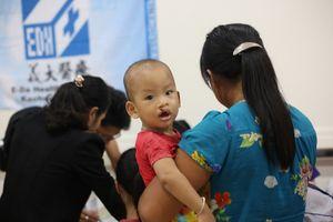 Nghệ An: Gần 130 trẻ được mổ dị tật hàm mặt miễn phí
