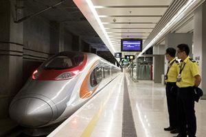 Hong Kong khai trương tuyến tàu cao tốc nối Trung Quốc