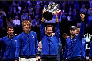 Federer tỏa sáng, đội châu Âu vô địch Laver Cup 2018