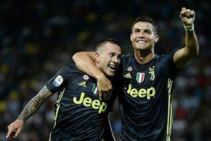 Ronaldo ghi bàn, Juventus thắng nhọc nhằn Frosinone
