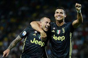 Ronaldo lập công, Juventus thắng dễ Frosinone 2 - 0