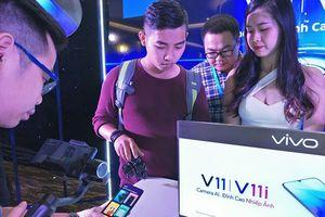 Bộ đôi Vivo V11/V11i tỉ lệ màn hình tràn hơn 90% thân máy