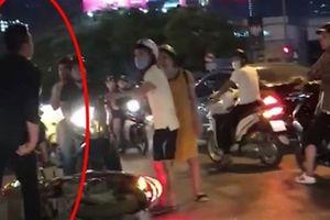 Thanh niên đi SH đẩy ngã bà bầu: 'Bầu tao cũng đánh'