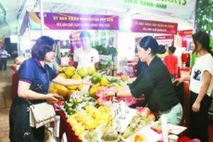 Các mặt hàng nông sản chiếm ưu thế tại hội chợ hàng Việt