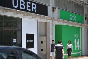 Grab, Uber bị phạt 9,5 triệu USD vì vụ sáp nhập ở Singapore
