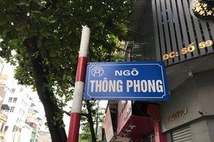 Chính quyền làm gì khi ngõ Thông Phong 'biến' thành chợ ăn uống?