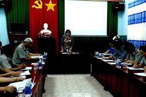 Thứ trưởng Đặng Hoàng Oanh làm việc tại Bình Phước về công tác tư pháp, thi hành án