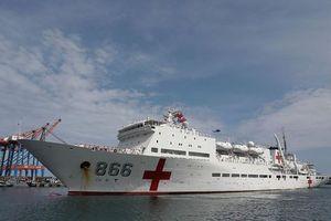 Tàu hải quân Trung Quốc lần đầu tới Venezuela