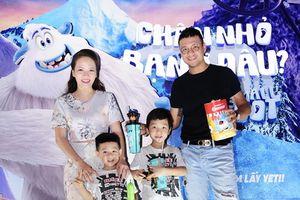 Gia đình sao Việt tề tựu đông đủ vui đón Tết Trung Thu cùng xứ sở băng tuyết của Yeti!
