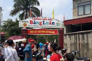Phú Thọ: Bé trai tử vong vì rơi xuống hố ga trong trường mầm non