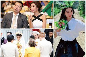 Á hậu Thúy Vân 'đi bụi' trong ngày bạn trai cũ cưới Lan Khuê
