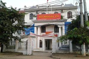Sở Ngoại vụ Hòa Bình 'phản hồi' kết luận thanh tra của Sở Nội vụ