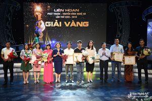 Trao giải Liên hoan Phát thanh - Truyền hình Nghệ An lần thứ 23