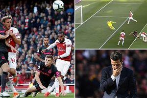 Chelsea hụt bước, Arsenal vượt mặt Man Utd