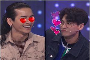 Những lần 'mê trai' lộ liễu của sao Việt trên sóng truyền hình