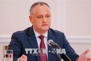 Tổng thống Moldova bị tạm dừng chức vụ