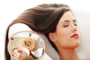Phục hồi mái tóc hư tổn nhanh gọn và tiết kiệm với mặt nạ đu đủ dễ làm