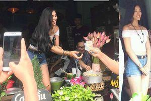 Fan yên tâm rồi nhé, ảnh chụp lén mà Hoa hậu Trần Tiểu Vi đã đẹp như thế này!