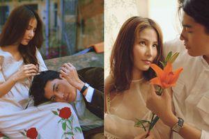 'Chú' Quang Đại cùng nàng thơ Diễm My khiến fan ngẩn ngơ với bộ hình đậm chất thơ thập niên trước