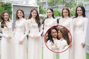 Mai Ngô - Lilly Nguyễn mũm mĩm bất ngờ trong dàn phụ dâu của tân nương Lan Khuê