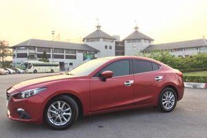 Sau 3 năm sử dụng, Mazda 3 rao bán với giá ngang ngửa Toyota Vios đời mới