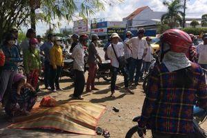 Người phụ nữ tử vong thương tâm sau va chạm với xe taxi