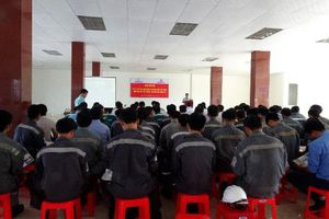 Trung tâm Điện lực Vĩnh Tân tăng cường công tác đảm bảo an ninh trật tự