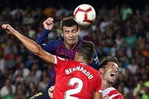 Barca bị cầm hòa trong trận derby xứ Catalan