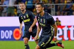 Ronaldo lập công, Juventus thắng nhọc Frosinone