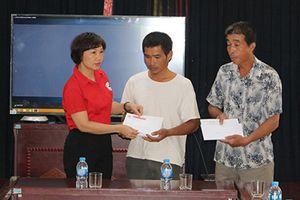 Hơn 94 triệu đồng hỗ trợ gia đình nạn nhân thiệt mạng trong vụ cháy gần Bệnh viện Nhi