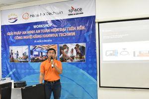 Hanwha Techwin giới thiệu các giải pháp an ninh với sinh viên ngành CNTT