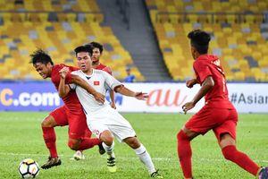 U16 Việt Nam bị Indonesia cầm hòa vì thiếu may mắn
