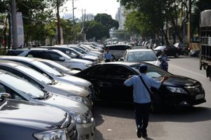 Phí giữ ôtô ở trung tâm Sài Gòn không quá 5 triệu/tháng