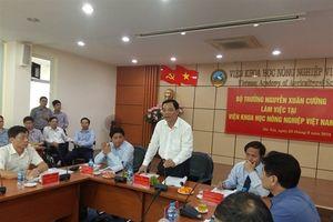 Bộ trưởng Nguyễn Xuân Cường: Xây dựng VASS phát triển toàn diện