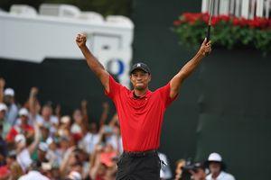 'Siêu hổ' Tiger Woods 'giũ bùn đứng lên' sau 5 năm sống trong địa ngục
